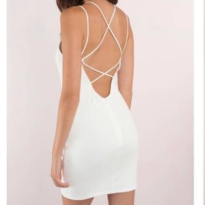 🆕White bodycon dress